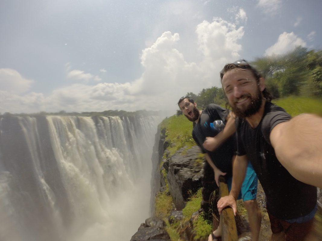Social Nomads Waterfall