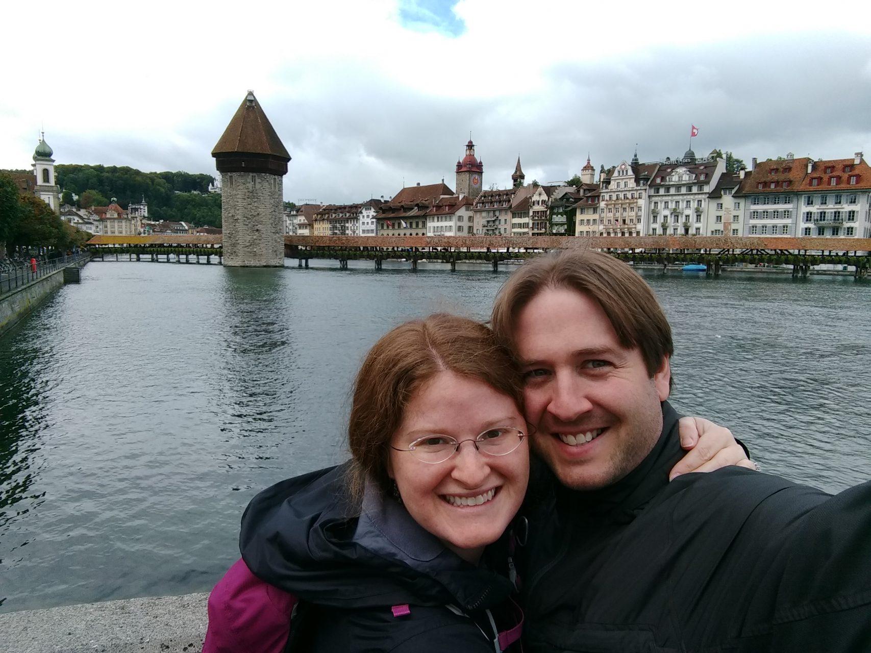 Chapel Bridge in Luzern